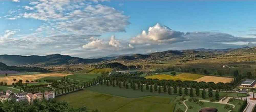 panoramica colline
