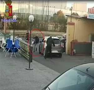 rapinatore roma banda golf