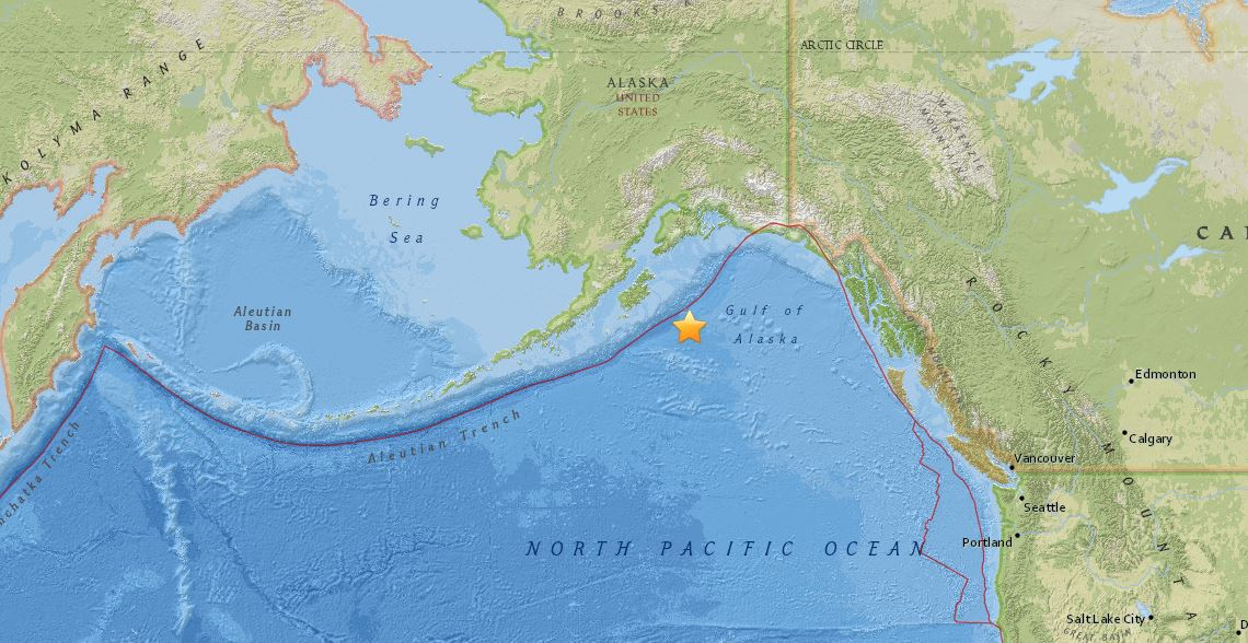 terremoto alaska america nord