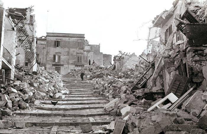 terremoto valle del Belice 68