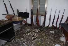 uccelli fucili sequetrati operazione osei