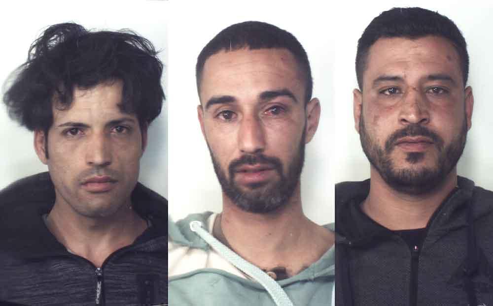 Da sinistra Abdelaziz Kandila, Adil Quazari e El-Mostafa Kandila