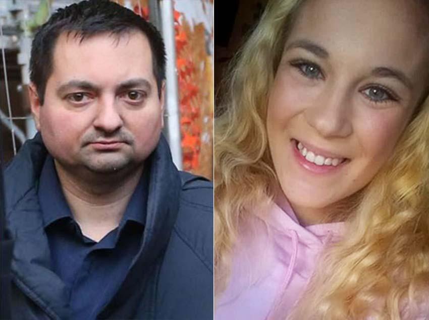 Da sinistra il sospetto Alessandro Garlaschi e la vittima Jessica Valentina Faoro
