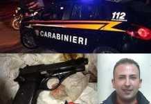 Angelo Catanea e pistola