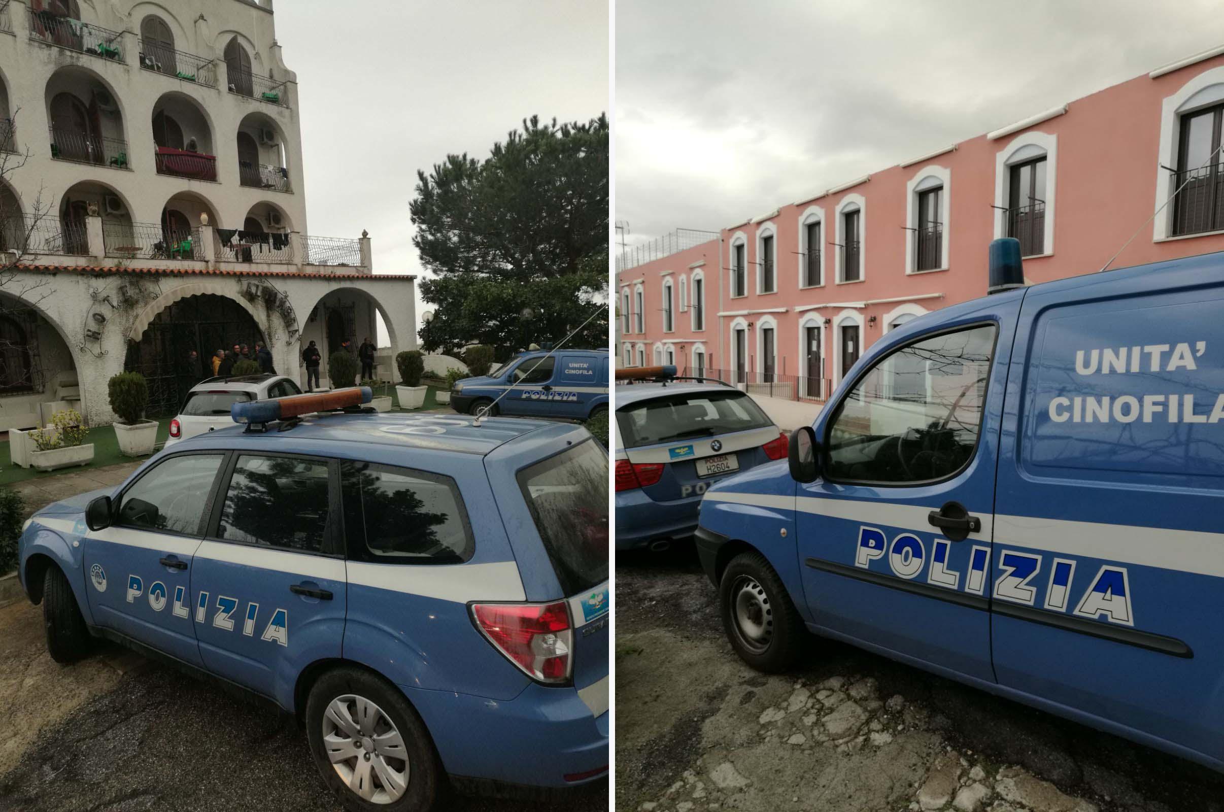 Polizia Cas Paola San Lucido
