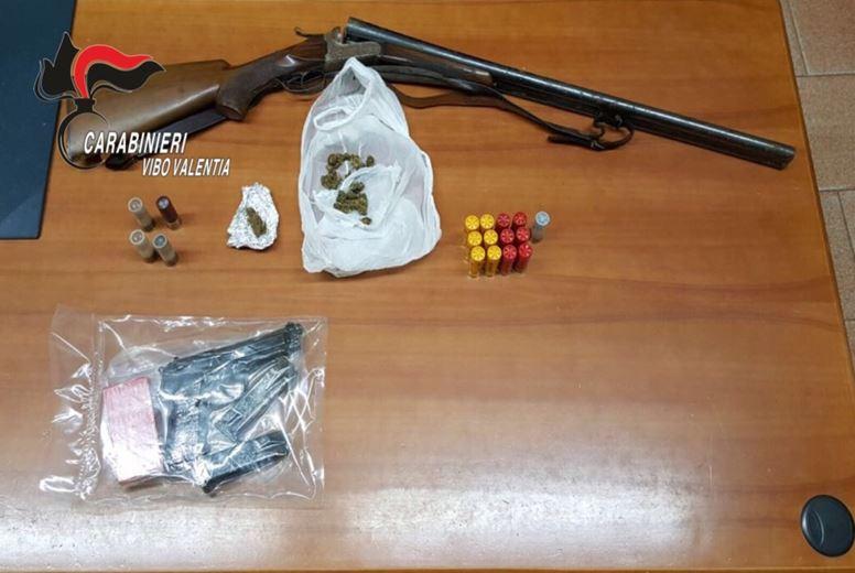 armi munizioni Limbadi