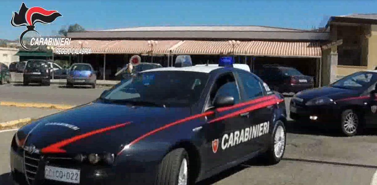 blitz carabinieri reggio calabria