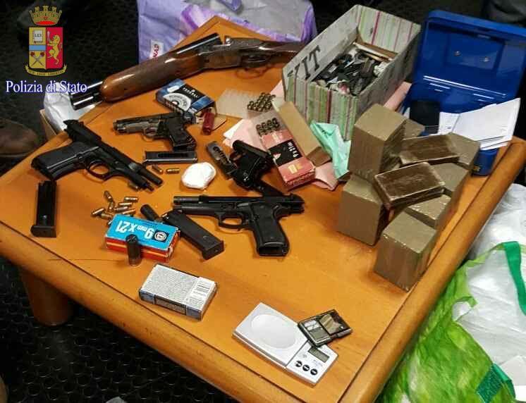 droga e armi roma