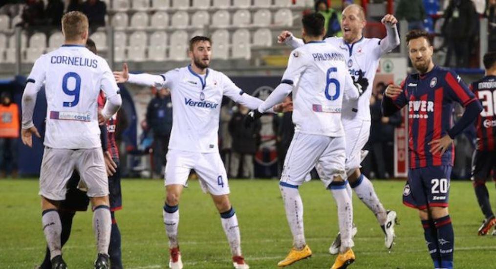 gol Atalanta contro Crotone