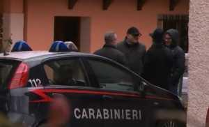 investigatori villa Giordano Rende