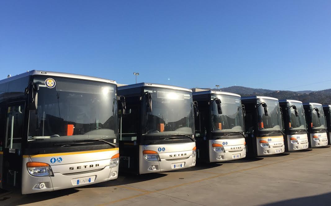 nuovi autobus rende