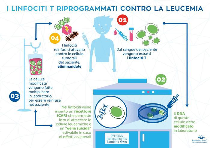 """All'ospedale Bambino Gesù di Roma. E' il primo paziente italiano curato con tale """"metodo rivoluzionario"""". La tecnica è una pietra miliare nel campo della medicina personalizzata."""