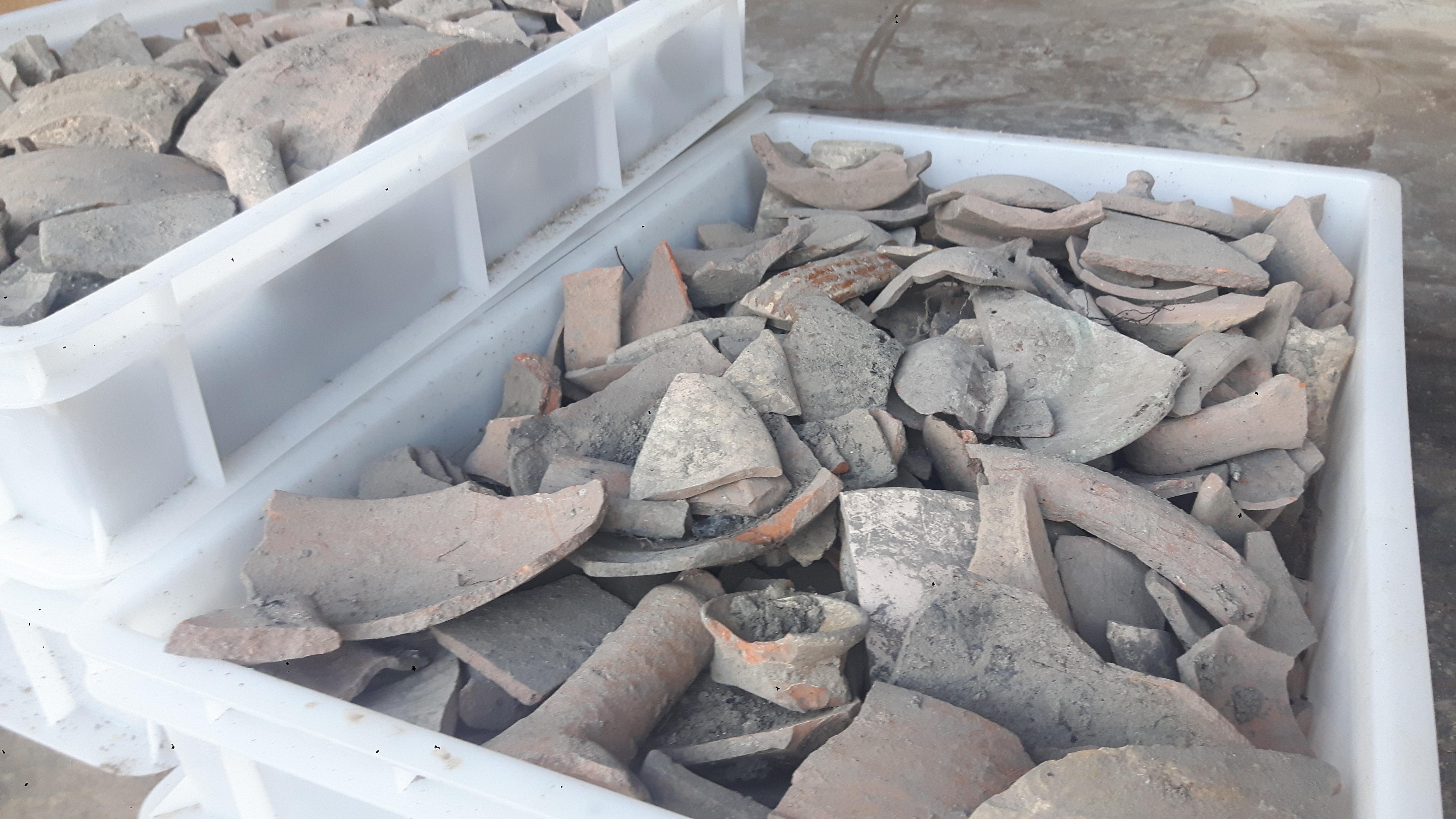 Reperti archeologici Oriolo