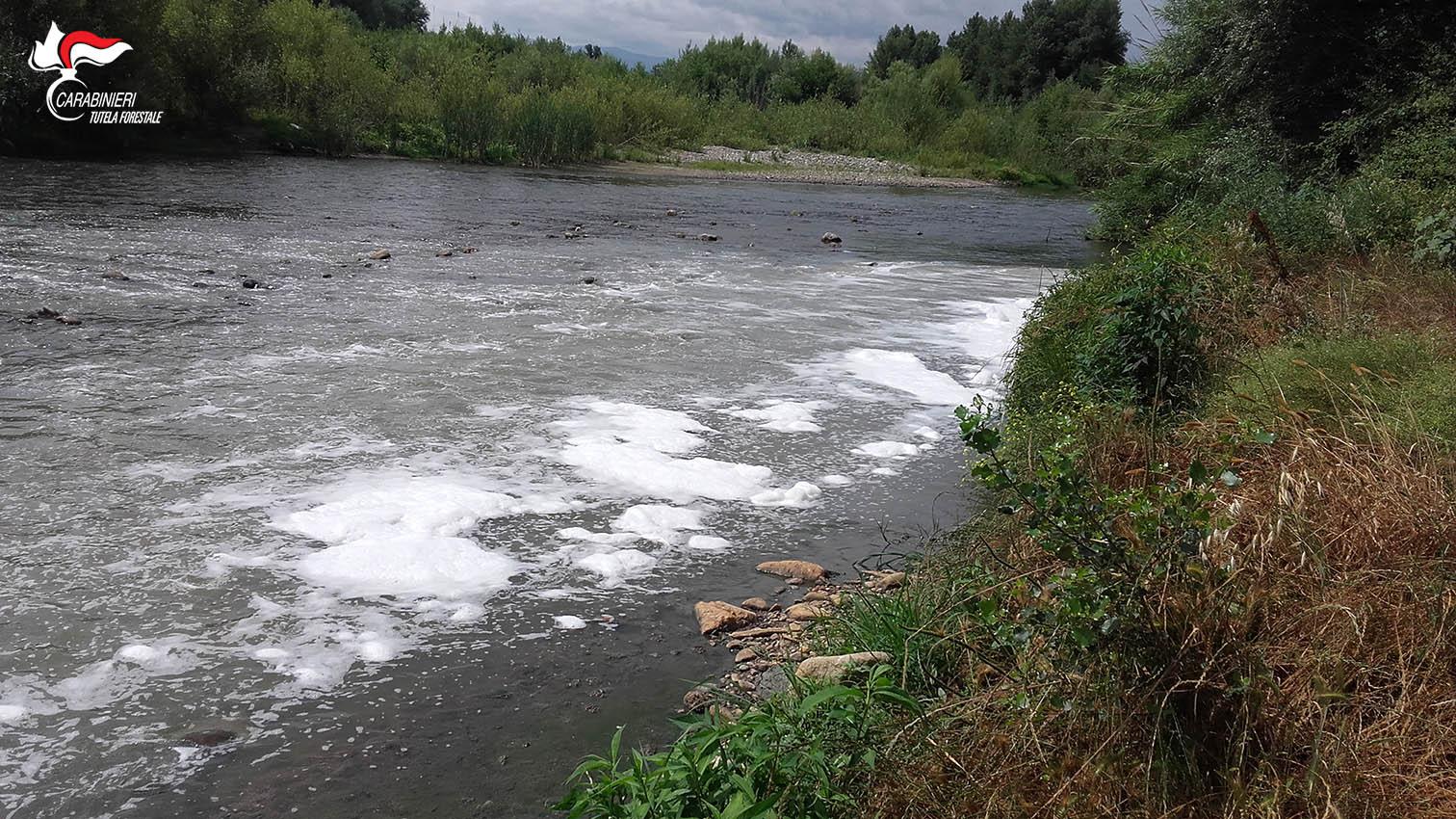 Sequestrato il depuratore che avvelenava il fiume