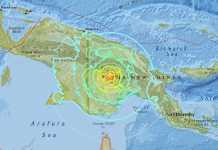 terremoto Papua Guinea