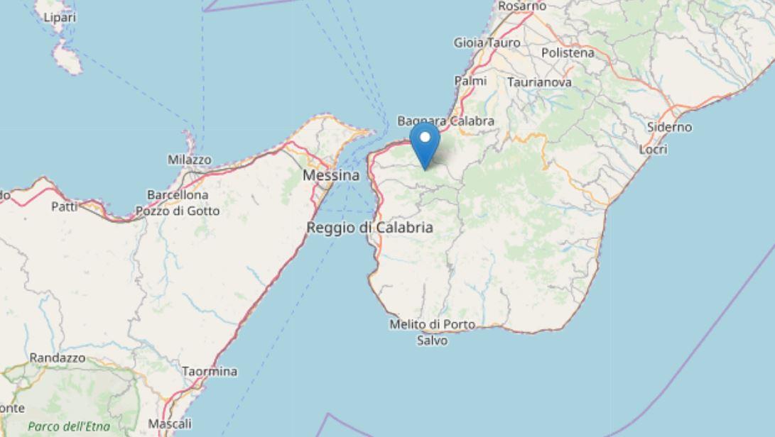 terremoto Reggio Calabria Sant'Alessio in Aspromonte