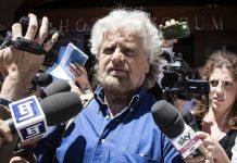 Beppe Grillo Hotel Forum Roma ansa