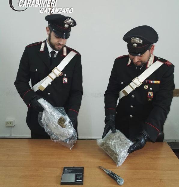 Carabinieri catanzaro marijuana