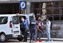 Gendarmi francesi a Bardonecchia