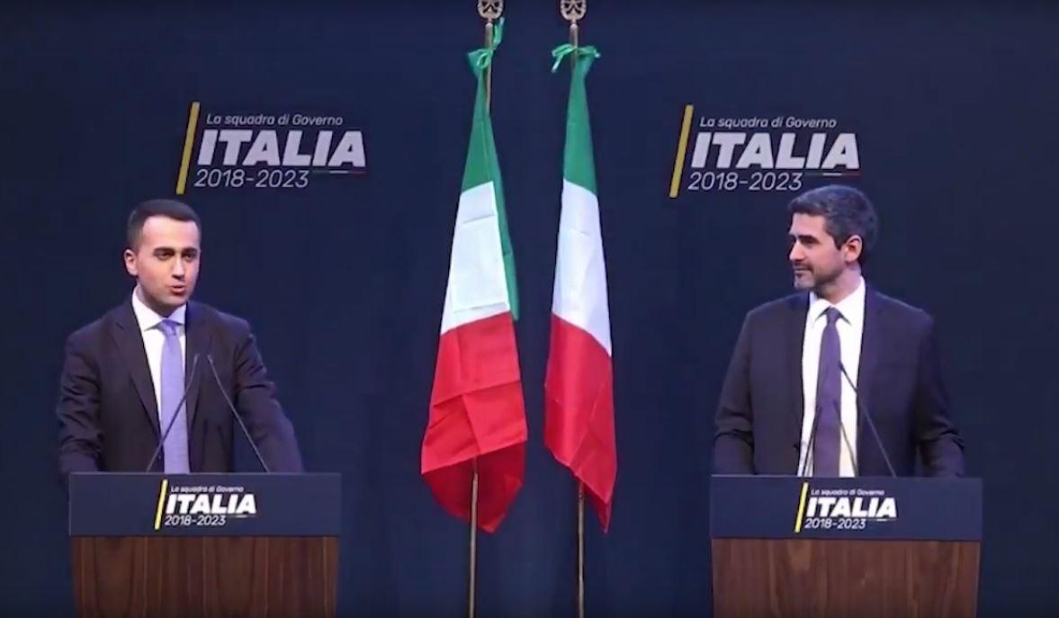 Luigi Di Maio Riccardo Fraccaro