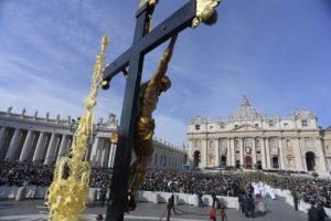 Piazza San Pietro Domenica delle Palme