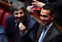 Roberto Fico e Luigi DI Maio alla Camera