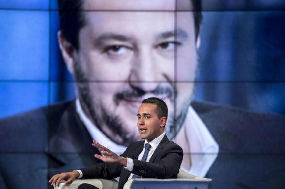 Salvini Di Maio Porta a Porta