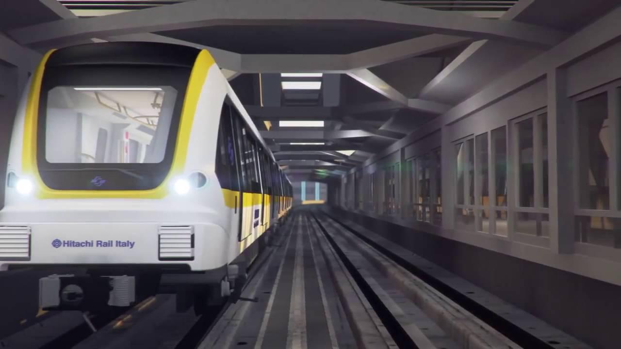 Hitachi Rail di Reggio costruirà i treni per la metro di Copenaghen