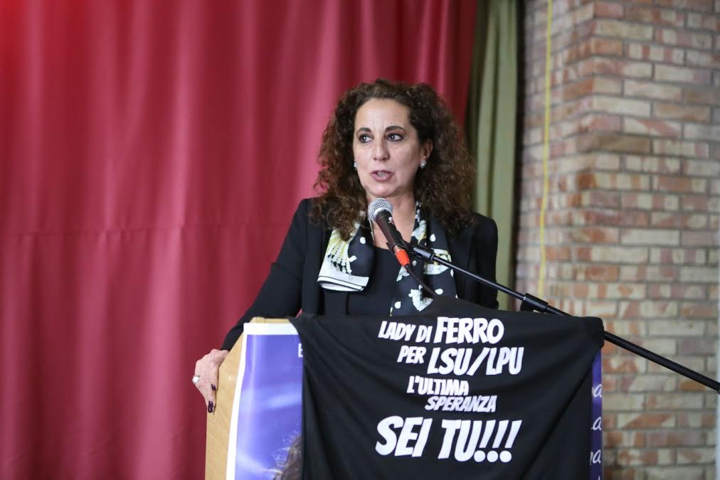 Wanda Ferro incontro serra lsu