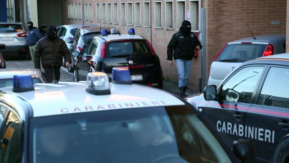 blitz carabinieri ndrangheta