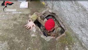 Bunker ndrangheta a Ciminà