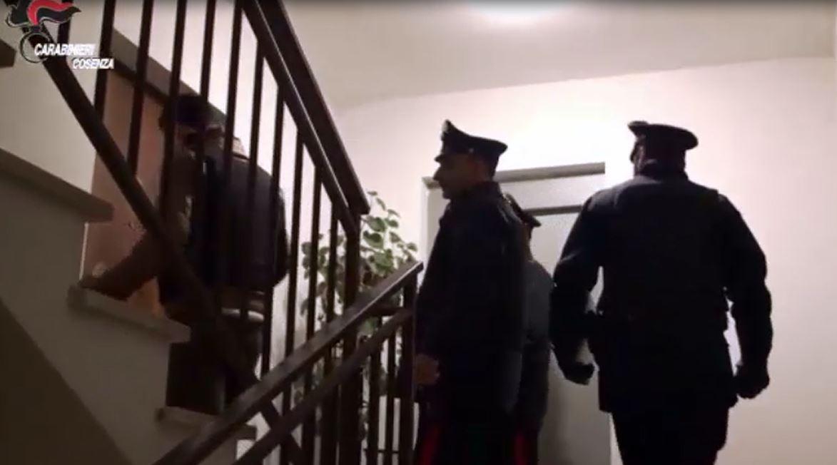 controlli carabinieri cosenza marzo