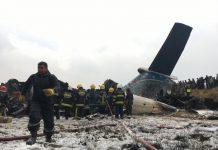L'aereo schiantato in Nepal