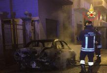 incendio auto lamezia terme