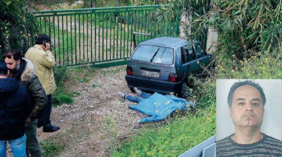 la scena del crimine omicidio Francesco Fiorillo