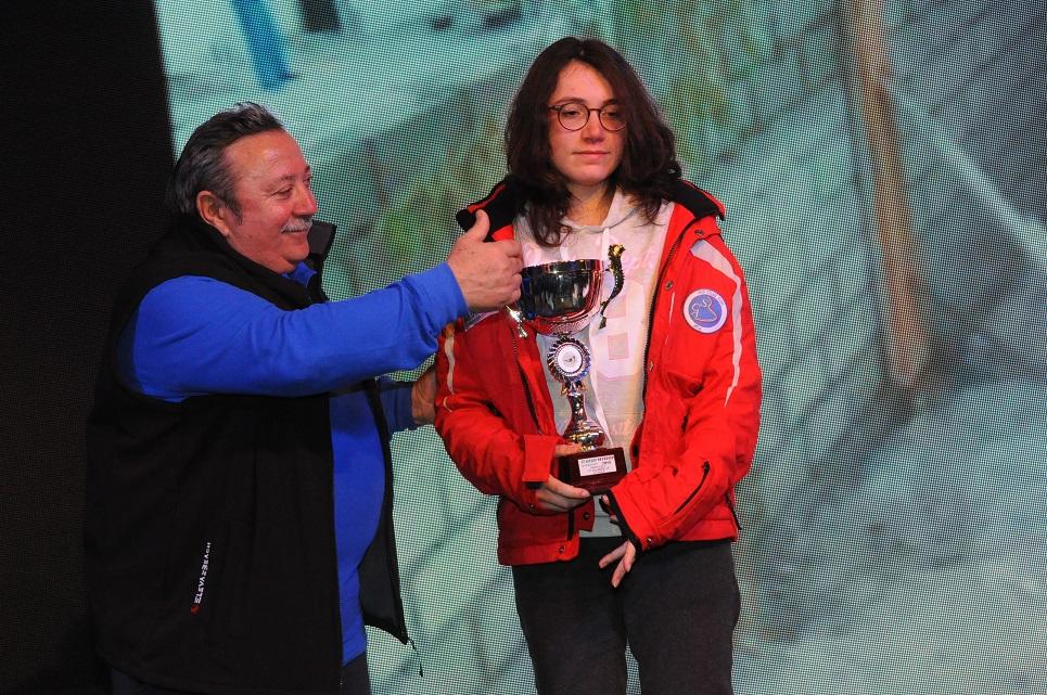 La premiazione di Maria Giovanna Quattrone
