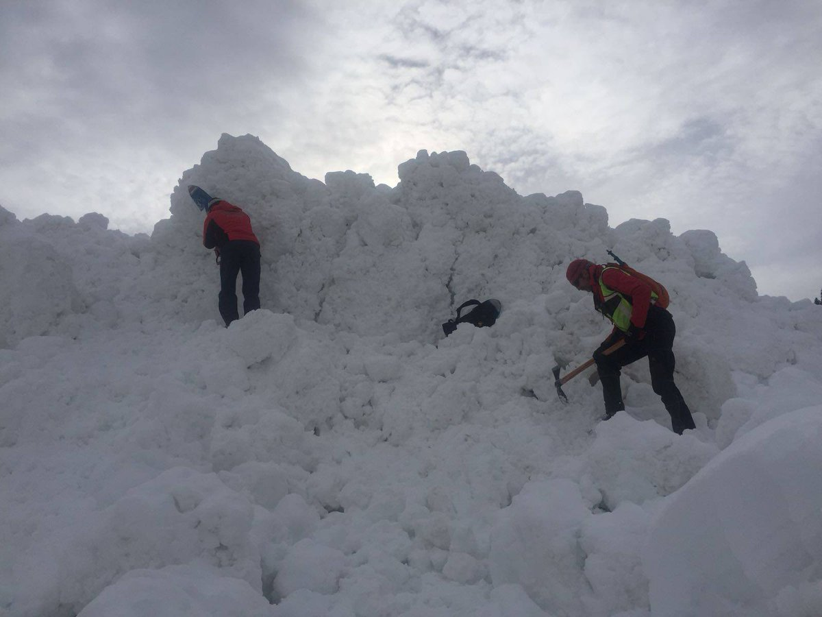 soccorso alpino slavina valanga