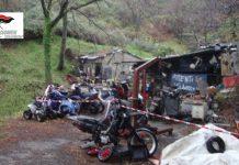 Taverna, Sequestrata un'area deposito di rifiuti speciali, 4 denunce