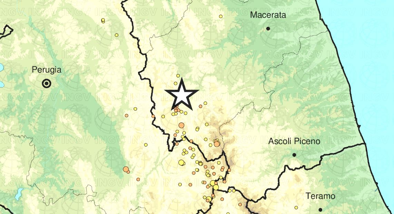 terremoto monte cavallo muccia