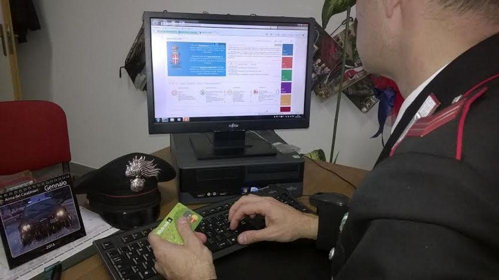 truffe online carabinieri