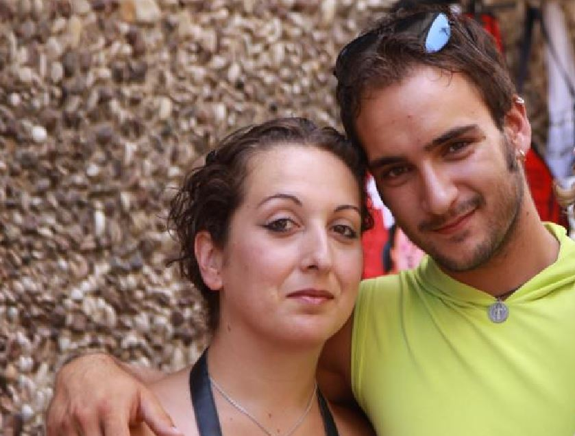 Le povere vittime, Francesca Conti e Sebastiano Coletta. Insieme a loro è morto anche il figlioletto