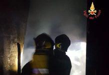 Incendio Pub Tonninas Catanzaro Lido