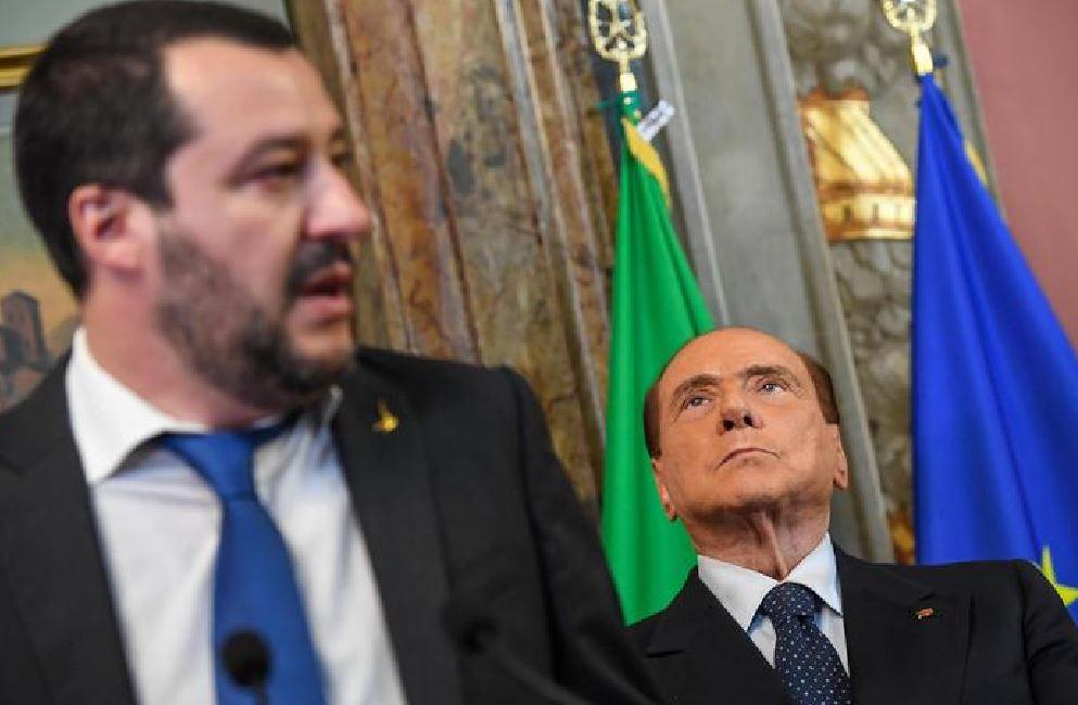 Matteo Salvini Silvio Berlusconi