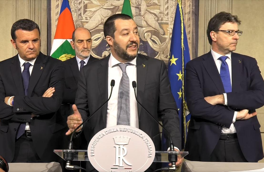 Matteo Salvini quirinale
