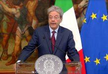 Paolo Gentiloni su attacco in Siria