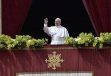 Papa Francesco Urbi et Orbi Pasqua 2018