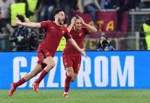 Soccer: Champions League; Roma-Barcelona