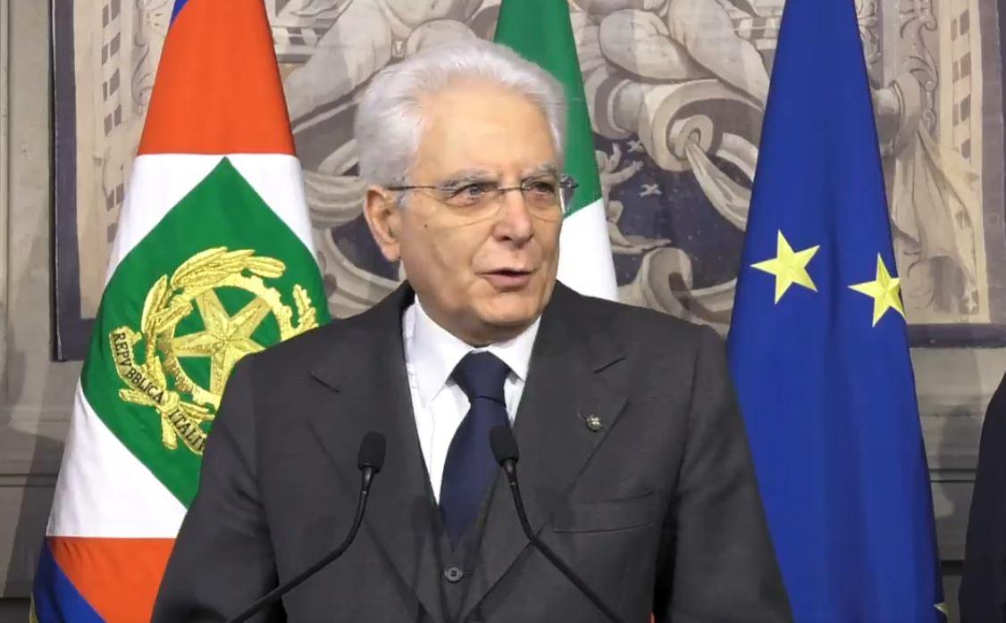 Sergio Mattarella seconda consultazione