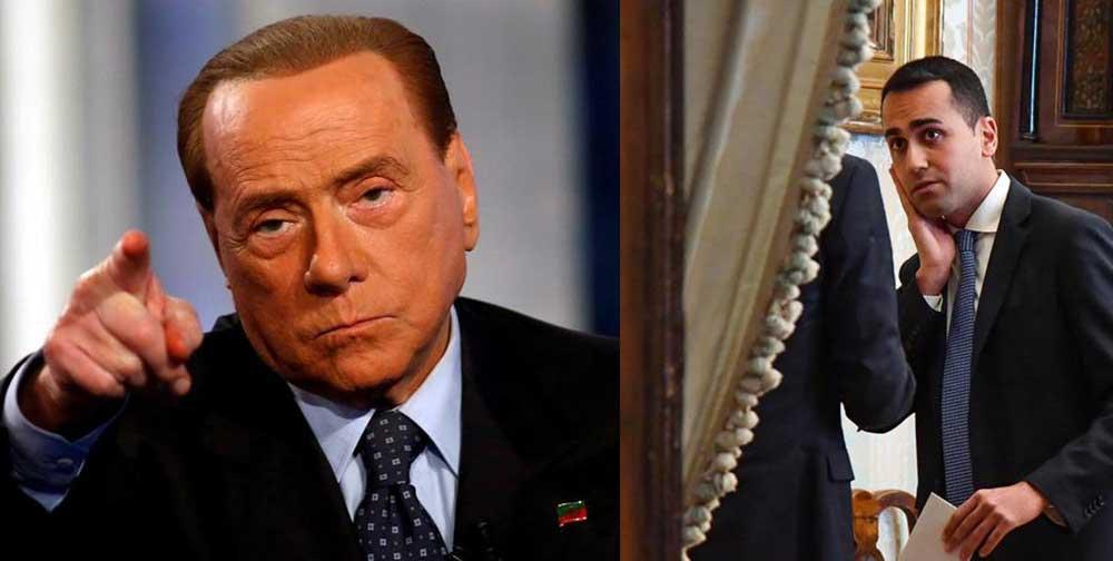 Silvio Berlusconi Luigi Di Maio