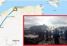 aereo militare precipitato Algeria